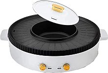 LSDRALOBBEB Hot Plate Table Top Grill BBQ Electric