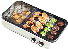 LSDRALOBBEB Hot Plate Table Top Grill Electric