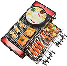 LSDRALOBBEB Hot Plate Table Top Grill Grills