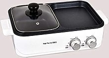 LSDRALOBBEB Hot Plate Table Top Grill Separate