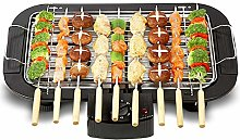 LSHOME Portable Electric Smokeless Barbecue Grill
