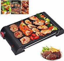 LSHOME Smokeless Electric Grill Indoor BBQ and