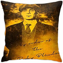 Lsjuee 18 X18 in Pillowcase Peaky Blinders Pillow