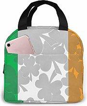 Lsjuee Big Boys Irish Flag Portable Insulated