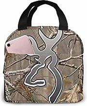 Lsjuee Camouflage Realtree Portable Insulated