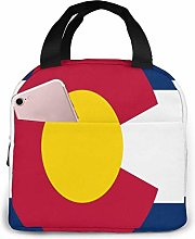 Lsjuee Colorado Lunch Bag Cooler Bag Stylish Lunch