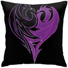 Lsjuee Descendants 3 Throw Pillow Covers Cushion
