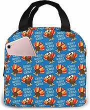 Lsjuee Gobble Funny Turkey Thanksgiving Portable