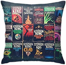 Lsjuee Stephen King Book Fronts Home Decorative
