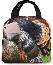 Lsjuee Turkey Portable Lunch Bag Insulated Cooler