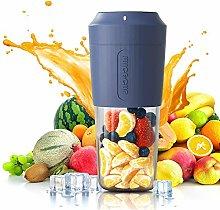 LSJZZ Mini Portable Blender,Personal Blender 350Ml