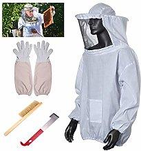 Lsmaa Beekeeping Suit Set, Unisex 3 Layer