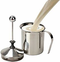 LSN Stainless Steel Milk Frother Double Mesh,Milk