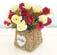 LSNLNN Artificial Flowers,Fake Flower Decoration