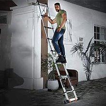 LSNLNN Ladders,Portable Telescopic Ladder