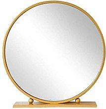 LSNLNN Mirrors,Metal Bathroom Mirrors Countertop