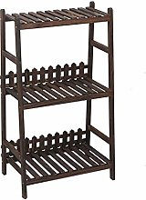 LSNLNN Plant Stands,Home 3 Tier Plant Stand Wooden