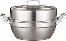 LSNLNN Pots,Food Steamer, Stock Pot, Toughened