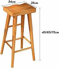 LSNLNN Stools,Bar Stool Retro Dining Chairs