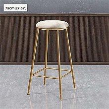 LSNLNN Stools,Bar Stool Soft Upholstered Barstool