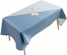 LSNLNN Table Runners,Rectangular Tablecloth Cotton