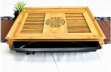 LSNLNN Tables,Bed Bamboo Folding Table Laptop