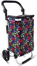 LSNLNN Trolleys,40L Multifunctional Shopping Cart