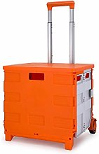 LSNLNN Trolleys,Storage Box Shopping Cart Small