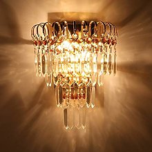 LSNLNN Wall Lamps,Creative Crystal Wall Lamp Wall