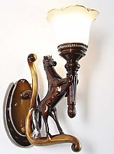LSNLNN Wall Lamps,European Style Living Room Wall