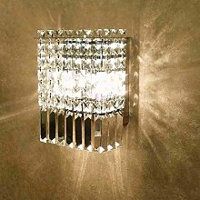 LSNLNN Wall Lamps,Led Crystal Wall Lamp Tv Wall