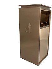 LSNLNN Waste Bin,Trash Can Stainless Steel Trash