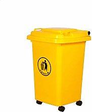 LSNLNN Waste Bin,Trash Cans,Dustbins Wheeled,