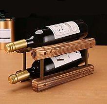 LSNLNN Wine Racks,Solid Wood Wine Rack Decoration