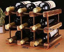 LSNLNN Wine Racks,Wine Racks Solid Wood Wine Rack