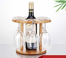 LSNLNN Wine Racks,Wooden Wine Rack, Bamboo and