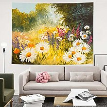 LSSWY Tapestries,Abstract Painting Flower Simple