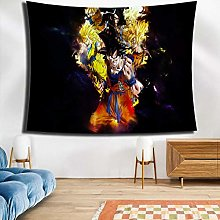 LSSWY Tapestries,Anime Dragon Ball Series Black