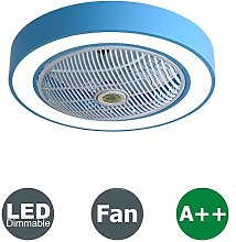 LSWZZ Bedroom Ceiling Fan Light Remote Control LED