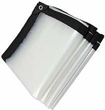 LSXIAO Glass Clear Tarpaulin Waterproof Heavy Duty