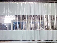 LSXIAO Indoor/Outdoor Transparent Curtains,