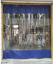 LSXIAO Outdoor Transparent Curtain, Plastic Tarp