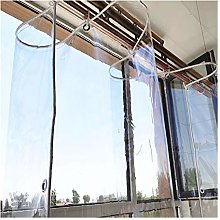 LSXIAO Transparent Tarpaulin, Balcony Rain