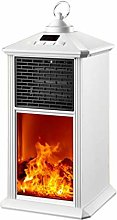 LTABC Electric Fireplace Infrared Fireplace Heater
