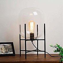 LTAYZ Table Lamp Black Metal Wrought Iron Bracket