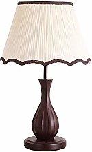 LTAYZ Table Lamp Modern Wood Bedroom Bedside Table