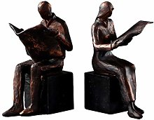 LTCTL Bookend Retro Bookends Men And Women Bookend