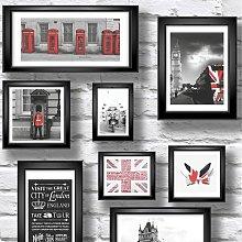 Ltd 102533 Novelties Britain in Frames Wallpaper -