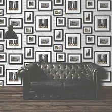 Ltd 102534 Novelties Manhattan in Frames Wallpaper