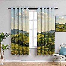 LTHCELE Blackout Curtains for Bedroom - Clouds